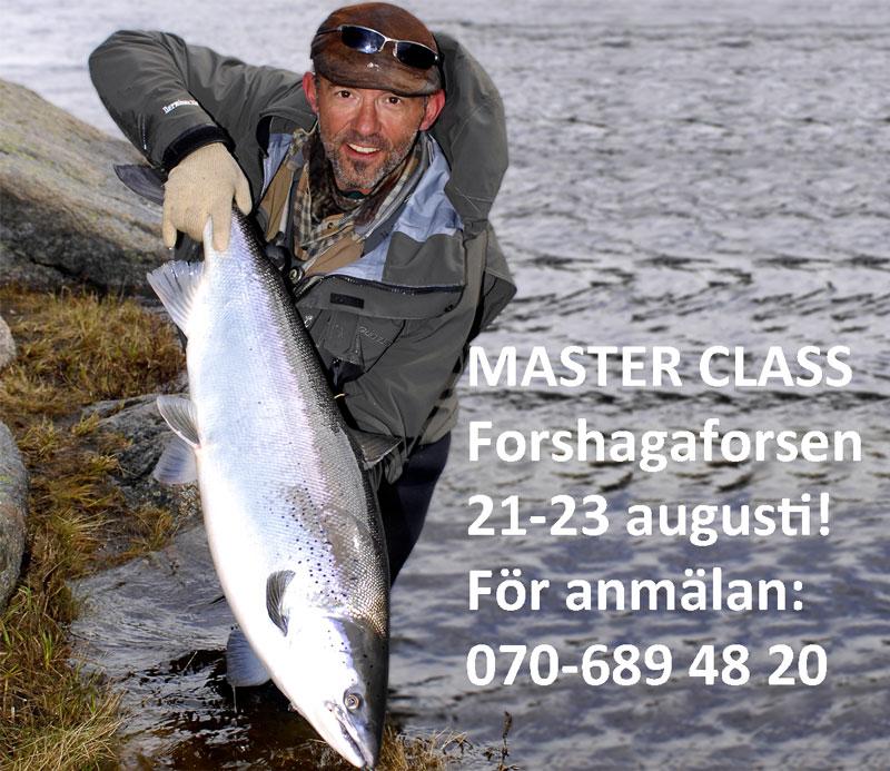 Fiska lax med Mikael Frödin i Forshaga