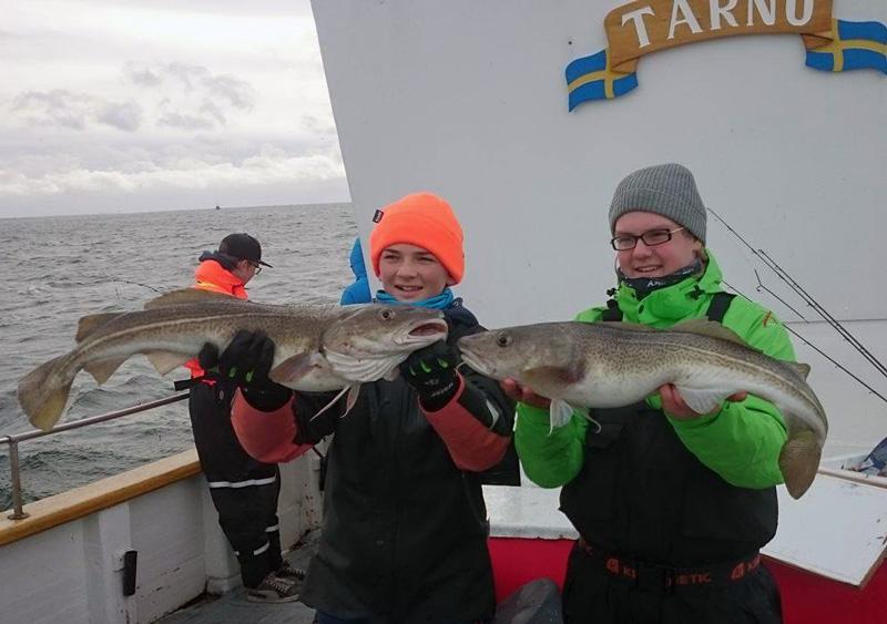 Fiska i Öresund i december!