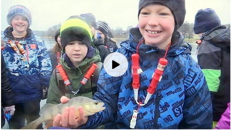 Isfiske med Klassdraget i TV!