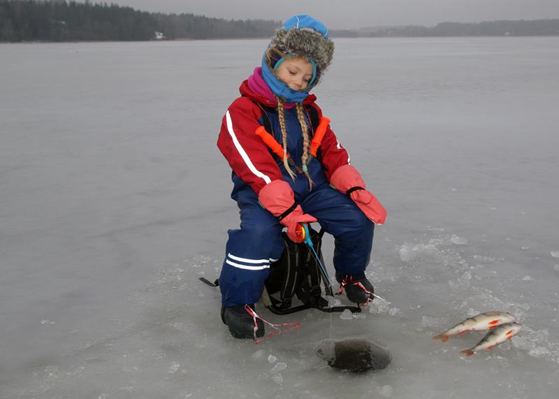 Sportlovsfiske i Stockholm