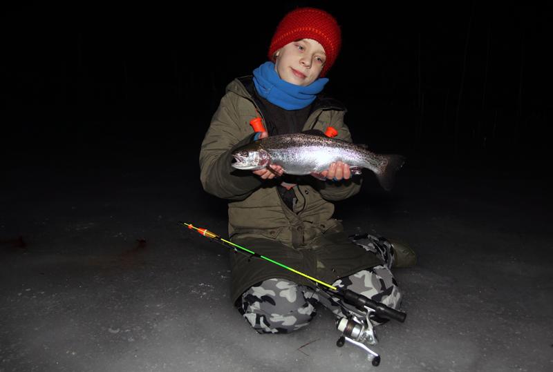 Sportlovsfiske i region Värmland