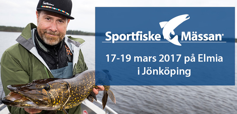 Allt om Sportfiskemässan 2017