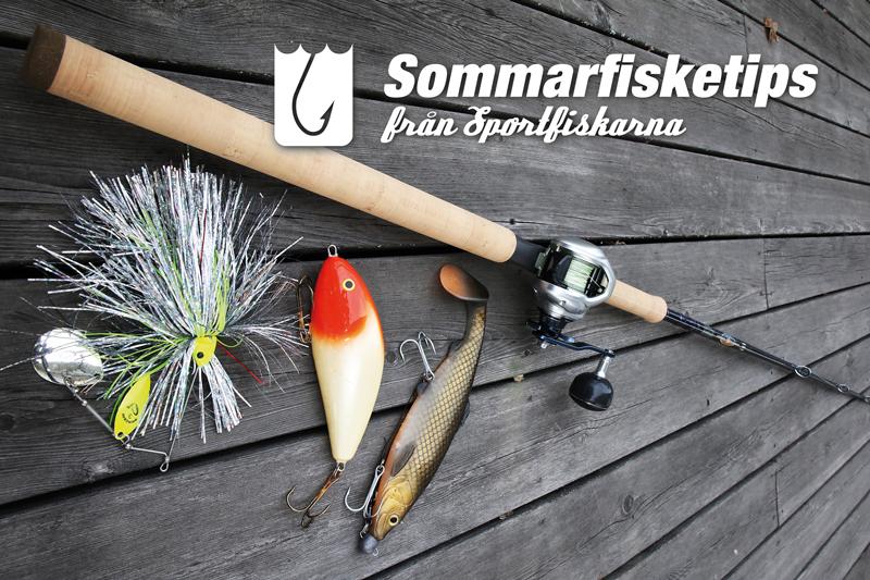 Sommarfisketips med Sportfiskarna