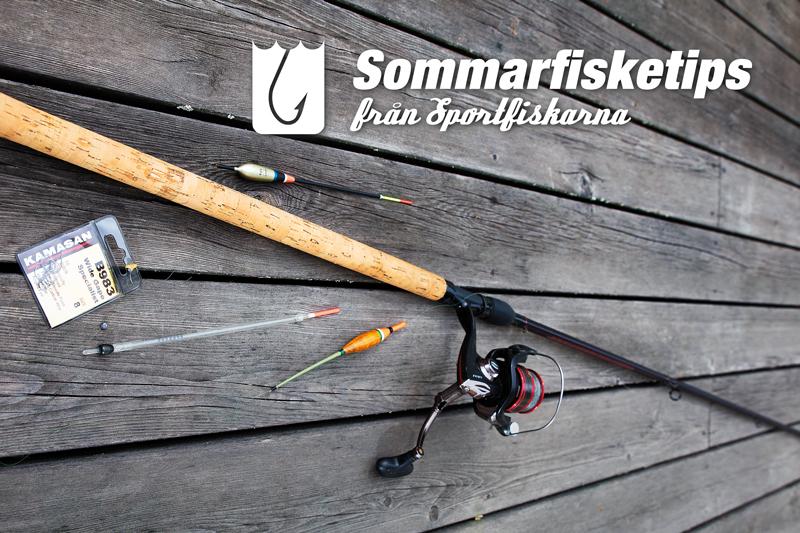 Sommarfisketips från Sportfiskarna - mete!