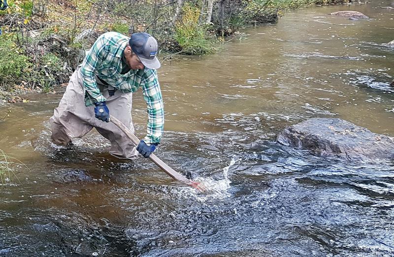 Gefan-pengar omsätts i praktisk fiskevård