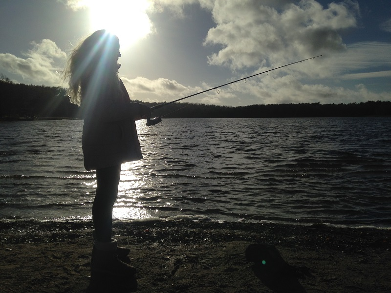 Rovfiskar är höstens tema för tjejfiskegruppen!