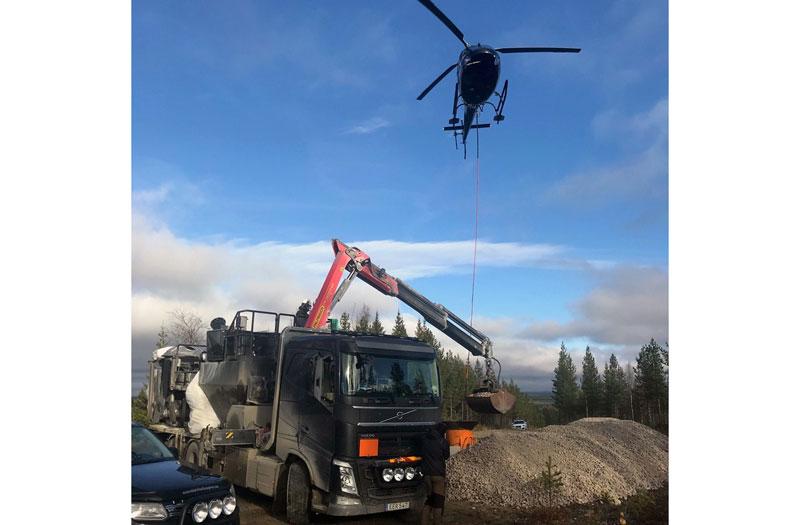 230 ton kalkgrus ska gynna öringen i Oxsjöån