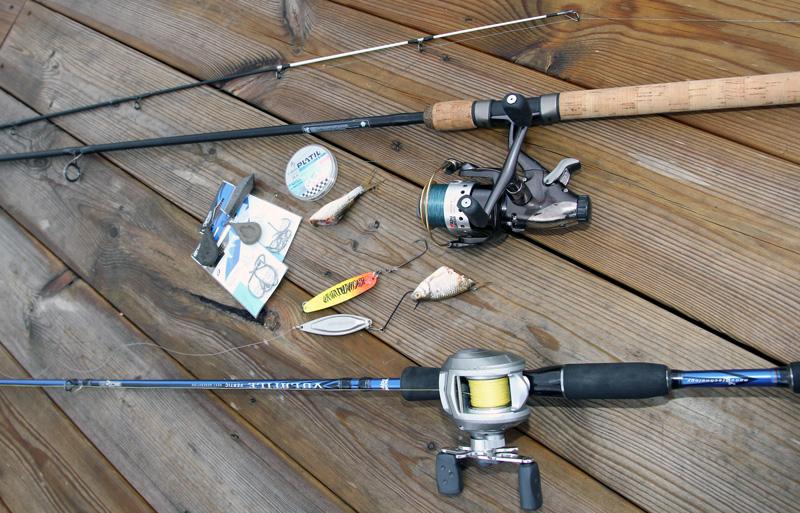 koppla in fiske spö