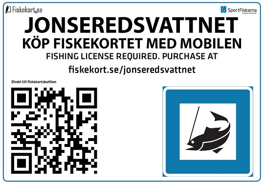 Fiskekort till Säveåns laxfiske