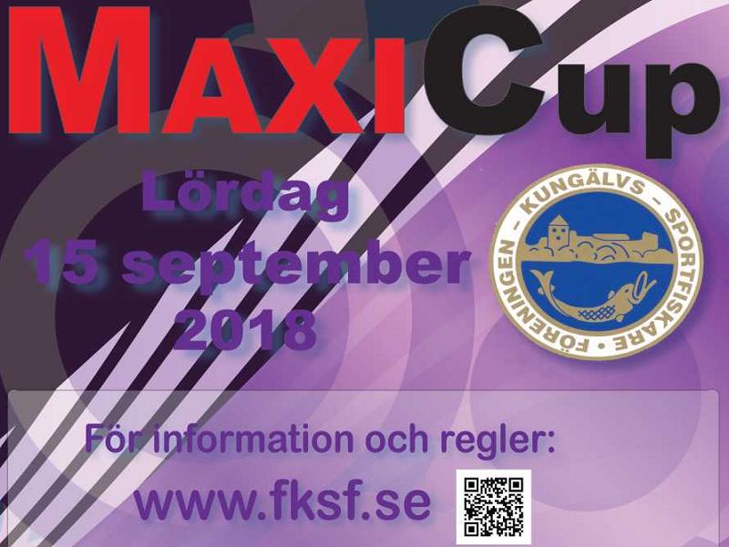 Missa inte Maxi cup i helgen!
