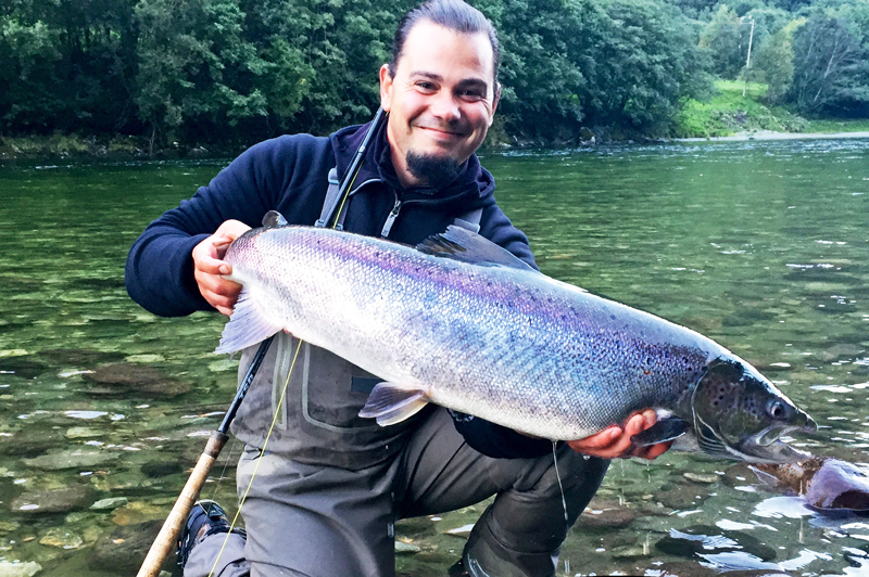 Platser kvar på kurs i laxfiske i Forshagaforsen!