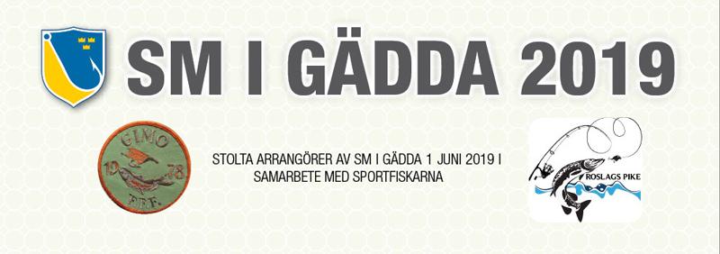 SM-finalen i Gädda 2019 hålls i Roslagen