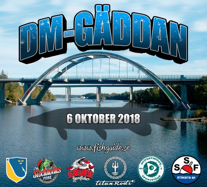 DM i GÄDDA – Stockholm 6 oktober