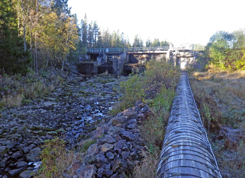 Ja till att avveckla kraftverk i Gnarpsån