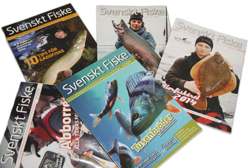 Påminnelse: hjälp oss att förbättra medlemstidningen Svenskt Fiske