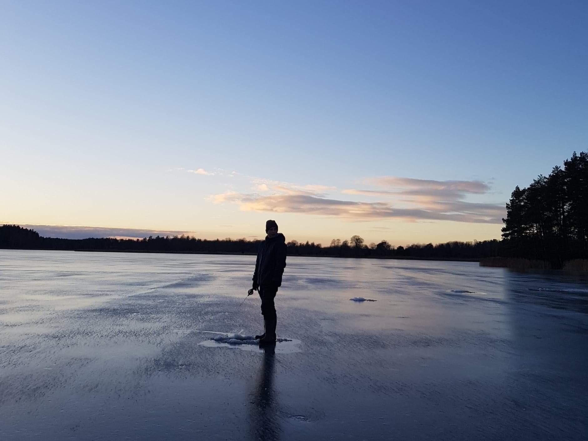 Sportlovsfisket på Ösbyträsk och Sicklasjön inställt