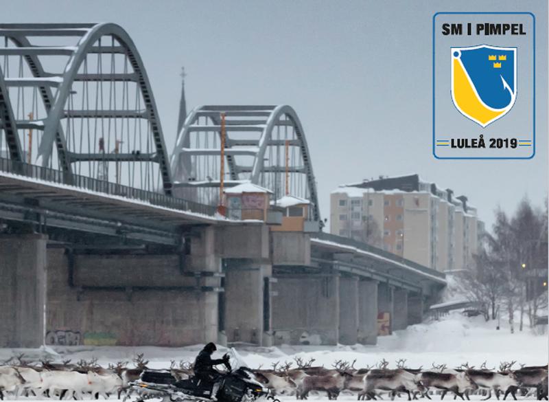 Arrangörerna spänner bågen inför SM i pimpel i Luleå