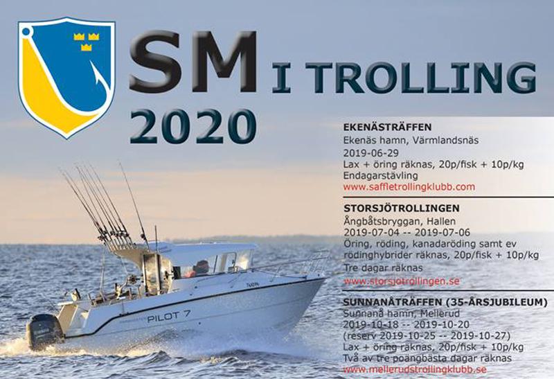Ny SM-serie i Trolling: Swedish Trolling Masters -20