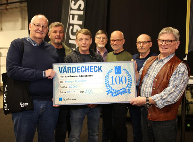 394 000 kronor till fiskevård från Jubileumsfonden