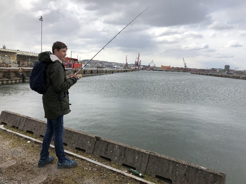 Välkomna på streetfiske för barn och ungdomar!