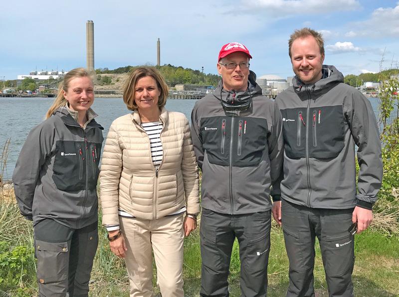 Miljöministern träffade Sportfiskarna