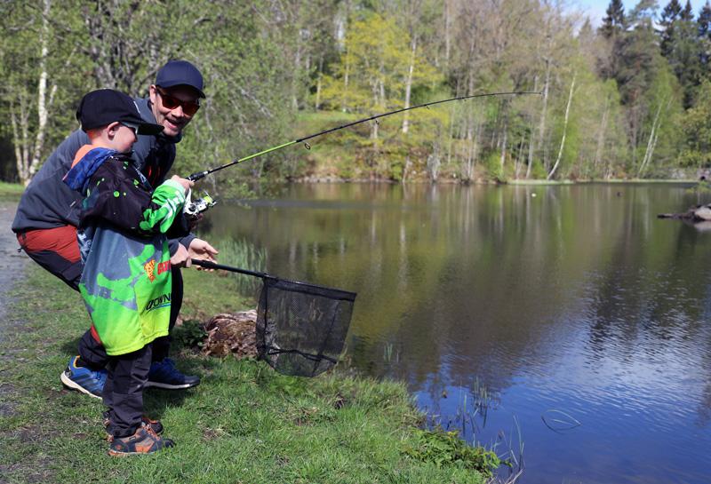 344 000 kronor till fiskeaktiviteter från Jubileumsfonden