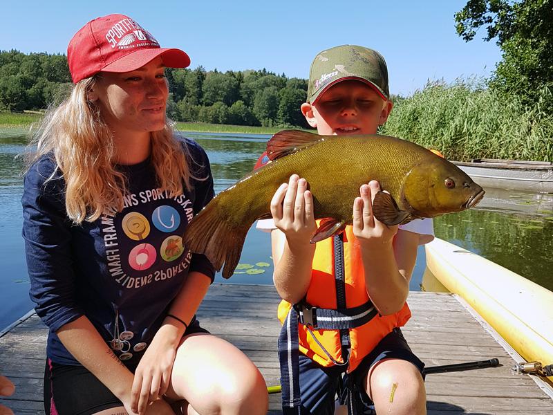 Välkommen på sommarlovsfiske i Nyköping