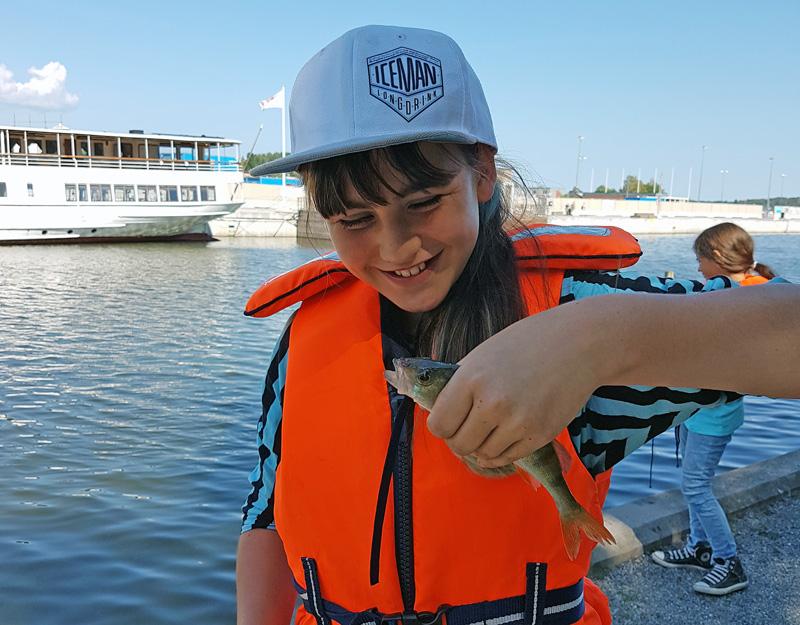 Rekordmycket fiske för unga i sommar