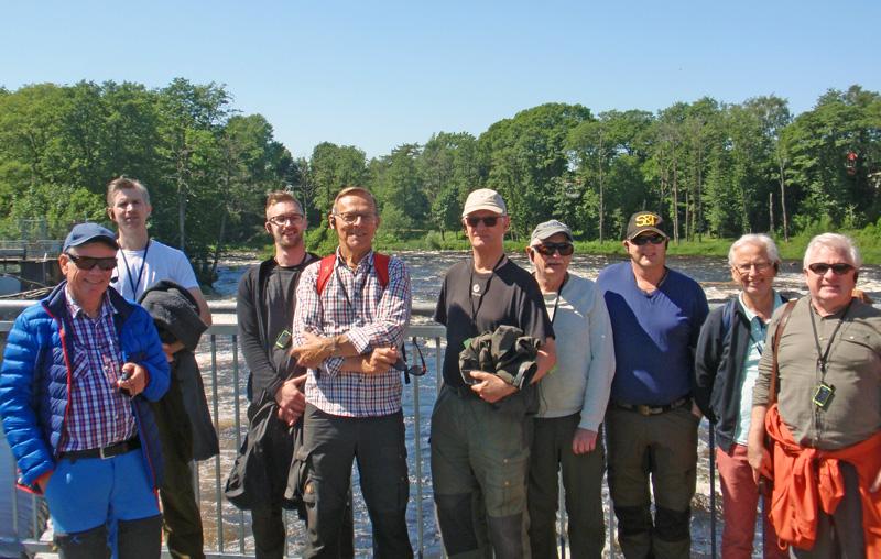 Fiskevårdare på studieresa till Hertingforsen