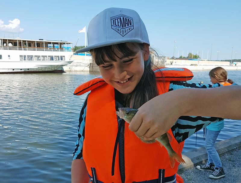Sommarlovsfiske i Vårby