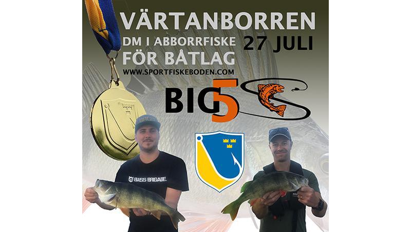 Välkomna på DM i Abborre i Stockholm 27 juli