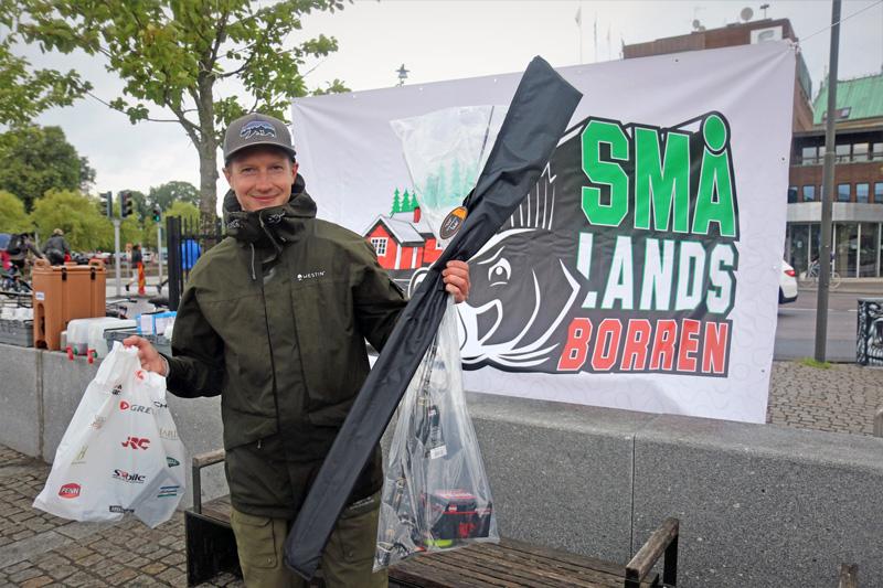 Succé för Smålandsborren trots regn