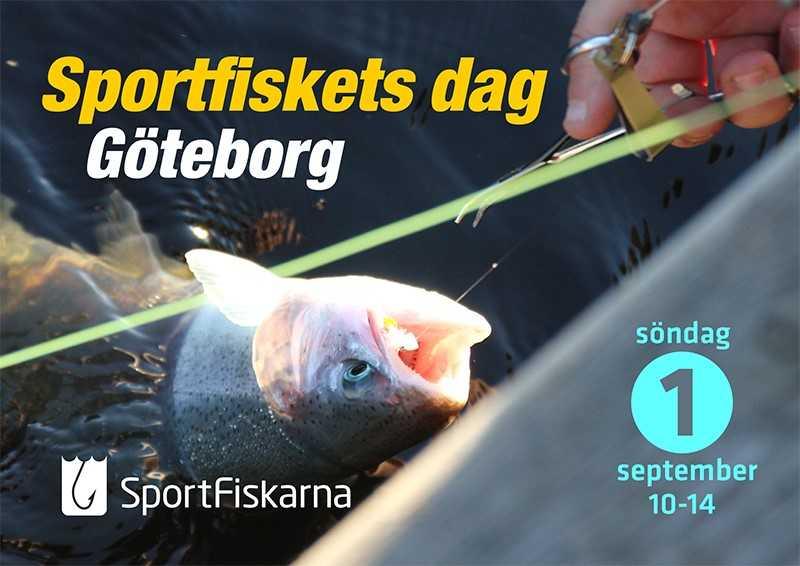 Välkomna till Sportfiskets dag i Göteborg nu på söndag!