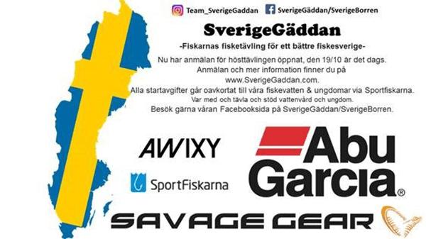 SverigeGäddan- gäddfisketävling landet runt 19 oktober