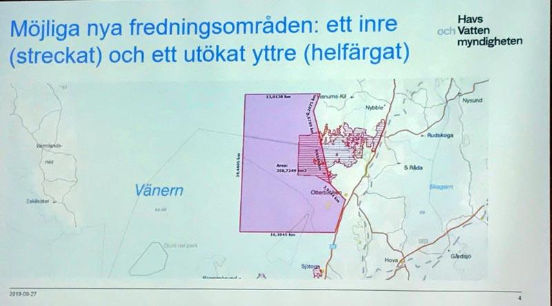 Fredningsområdet utanför Gullspångsälven föreslås öka
