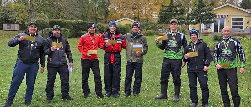 Team 70+  vann DM i gädda i Stockholm