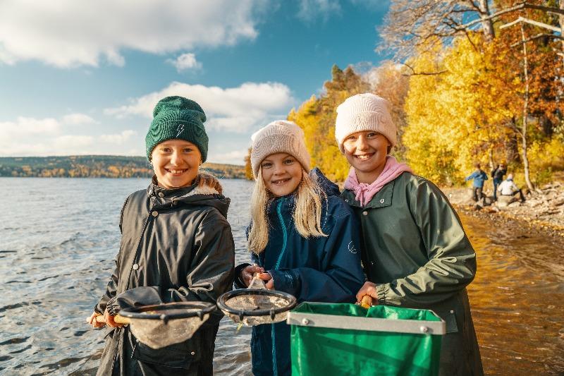 Skolbäcken från fjäll till kust - nu även i Västernorrland