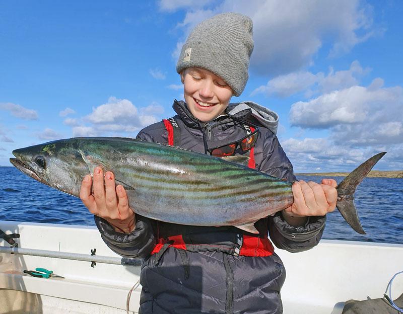Elvaårige Theo tog nytt svenskt rekord på bonito