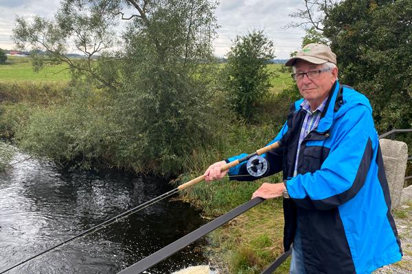 Kungsbacka kommuns miljöpris till fiskevårdare