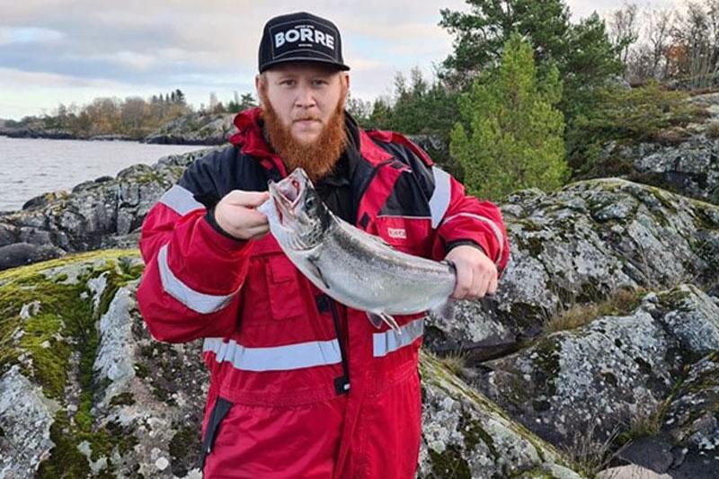 Positiv trend för laxfisket i Vättern under hösten