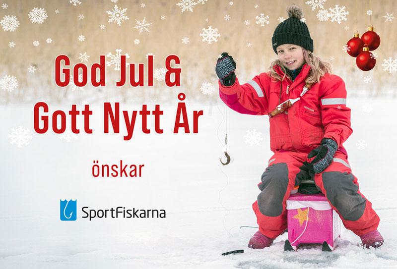 God jul från Sportfiskarna