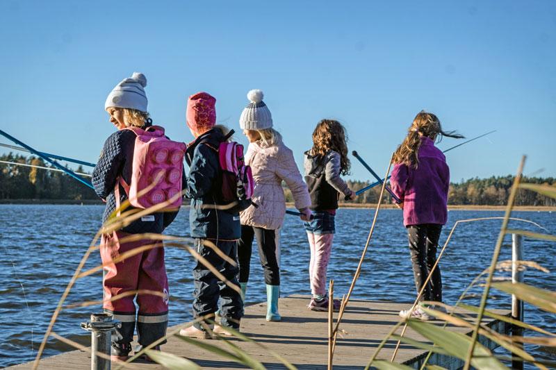 Trots mildväder erbjuds sportlovsfiske landet runt