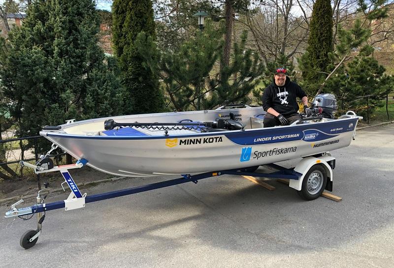Tomas vann Sportfiskarnas båt