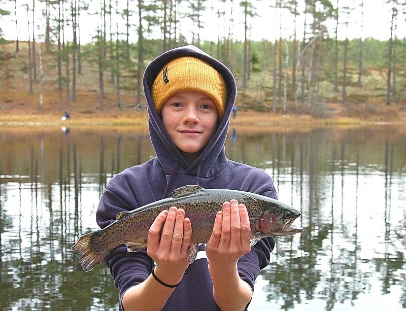Fiskeutmaning i Jönköping under påsklovet för hela familjen