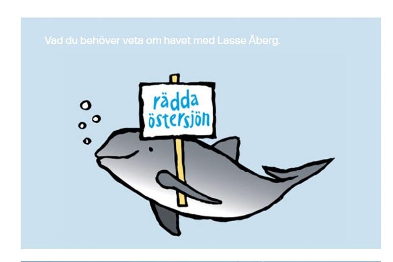 Ny satsning på att förmedla kunskap om tillståndet i Östersjön