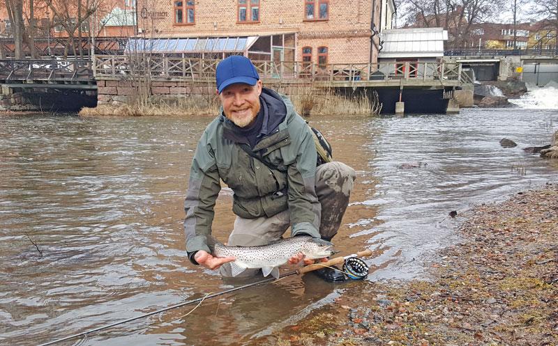 Förlängd fiskesäsong i Nyköpingsån
