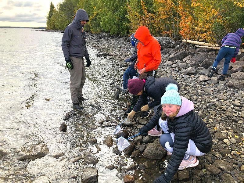 Skolbäcken sprider naturkunskap i Jämtland