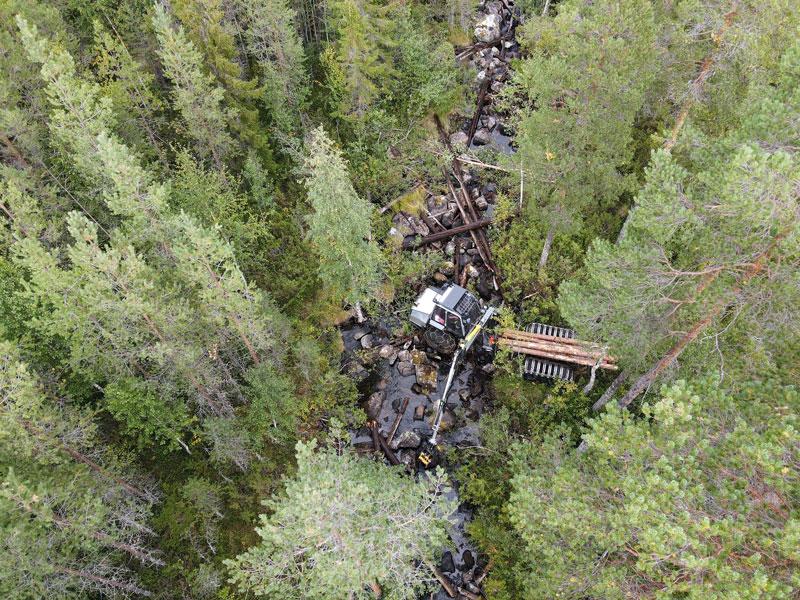 Ny biotopvård i vattendrag i Jämtland