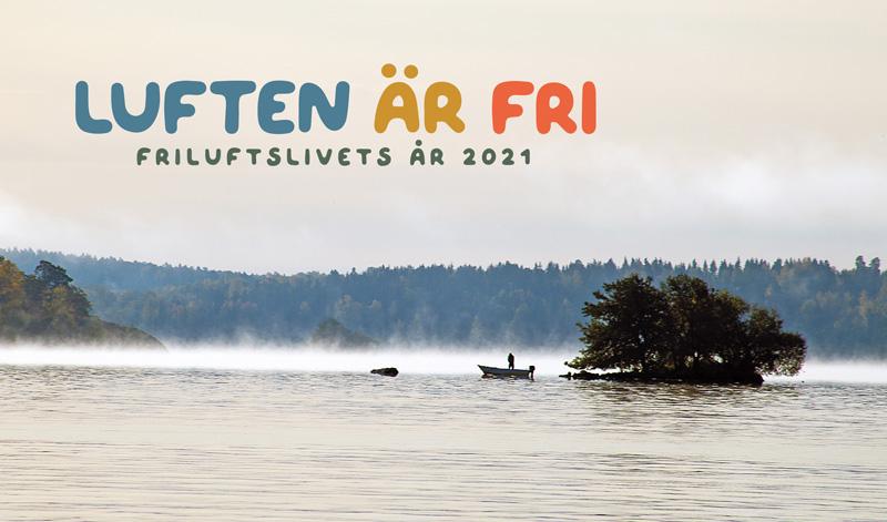 Fiske under friluftslivets år 2021