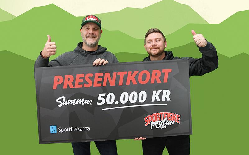 Tävla om 50 000 i fiskegrejor!